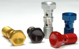Aluminium Bremsleitungshohlschrauben