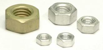 Aluminium - Muttern blank / oabic