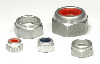 Aluminium - Stopmuttern blank/oabic