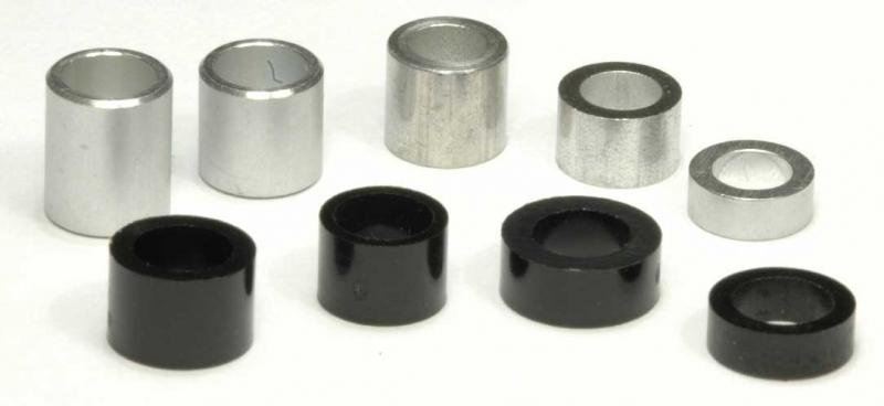 Distanzhülse 12x6 Aluminium Distanz-Hülsen Abstandshülse DistanzringBuchse