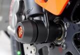 KTM 1290 Super Duke 14-19 Padsatz Vorderrad mit gefrästen, farblich eloxierten Aluminium-Inlay